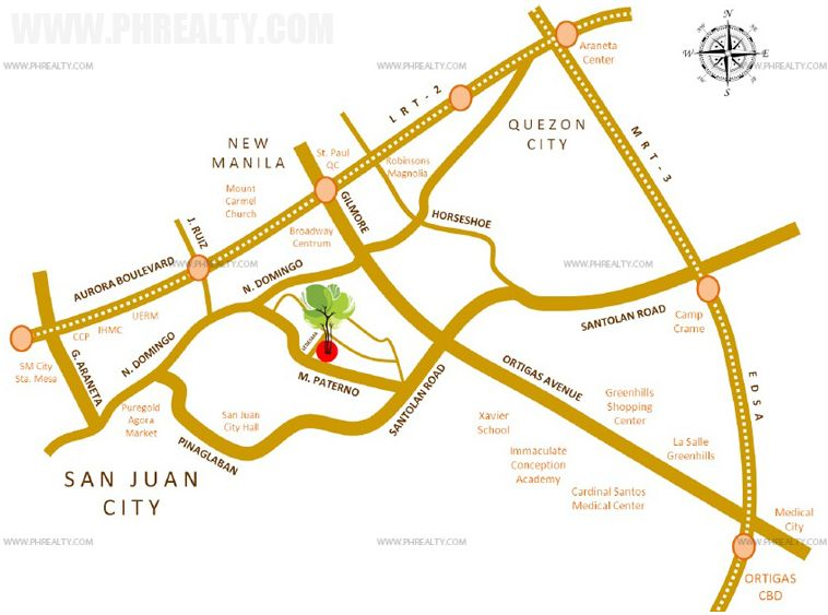 Mango Tree Residences  - Location & Vicinity