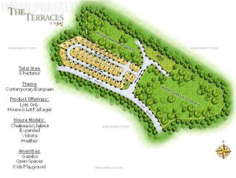 The Terraces - Site Development Plan