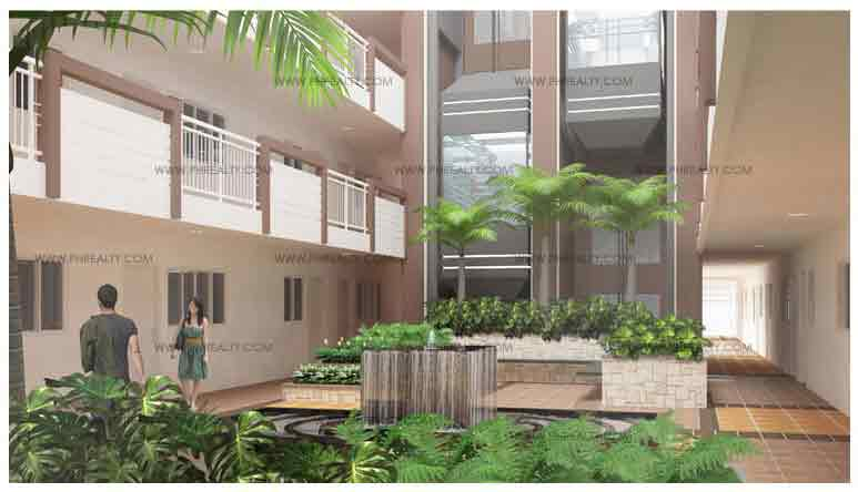 Sorrel Residences - Landscaped Atriums