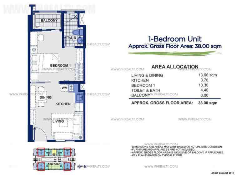 Sorrel Residences - 1 - Bedroom Unit