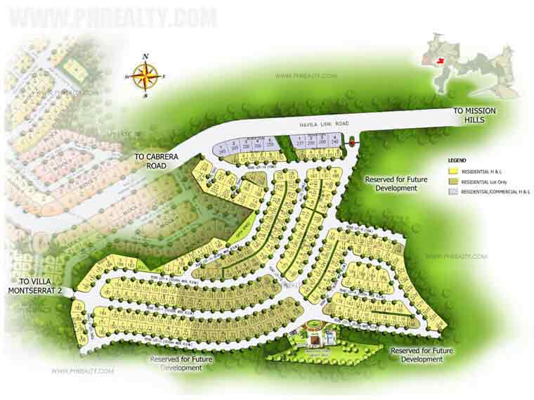 Villa Montserrat lll - Site Development Plan