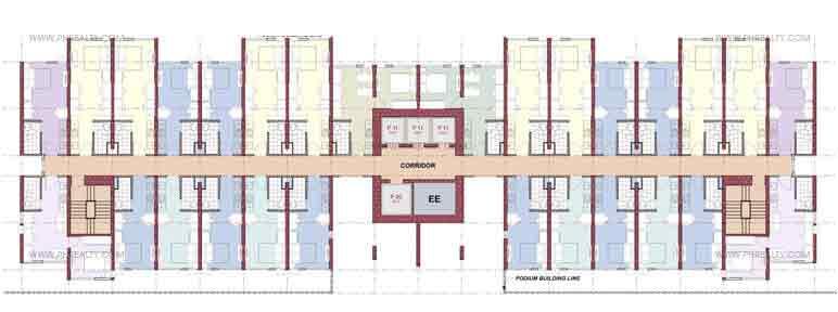 Vinia Residences - Versaflats (SOHO)Floor Plan