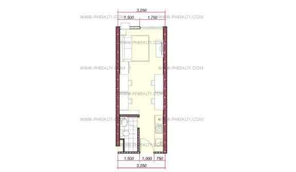 Vinia Residences - Studio Unit