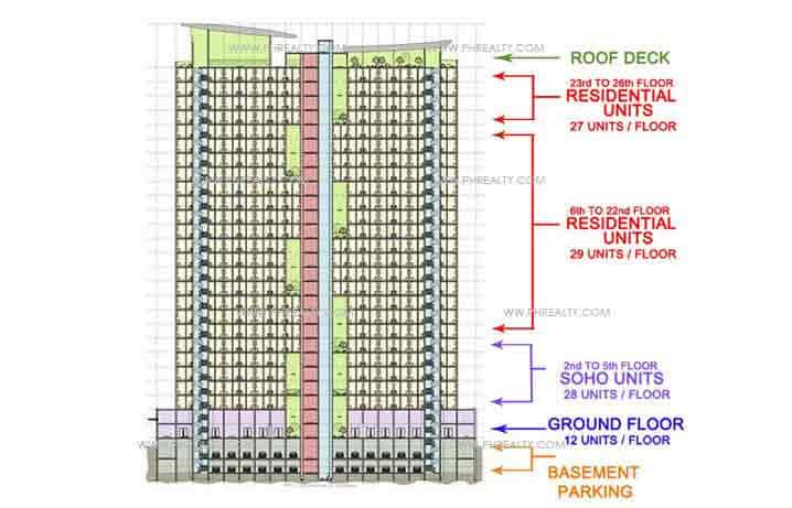 Vinia Residences - Building Plans