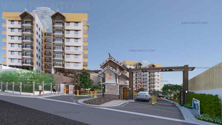 Alea Residences - Main Entrance Gate