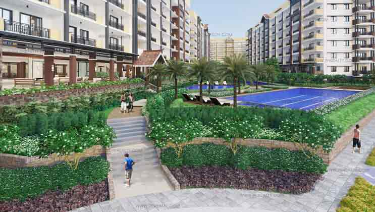 Alea Residences - Landscaped Garden
