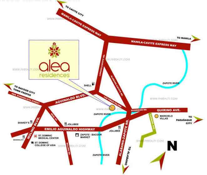 Alea Residences - Location & Vicinity