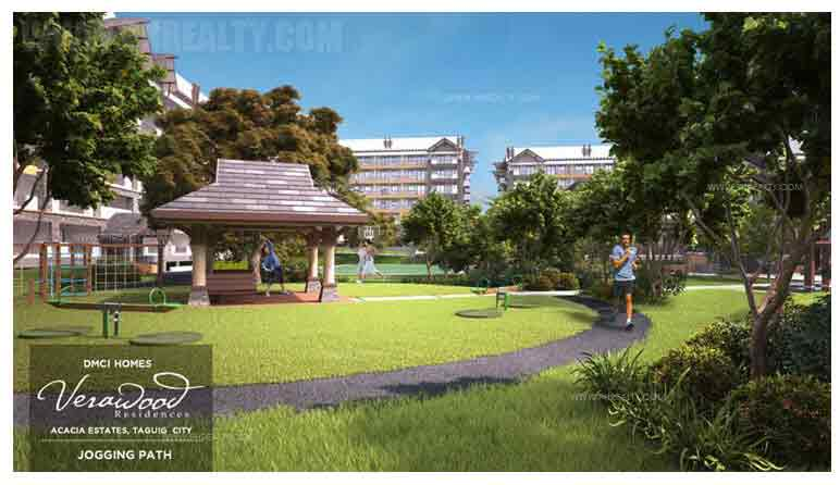 Verawood Residences - Jogging Trails