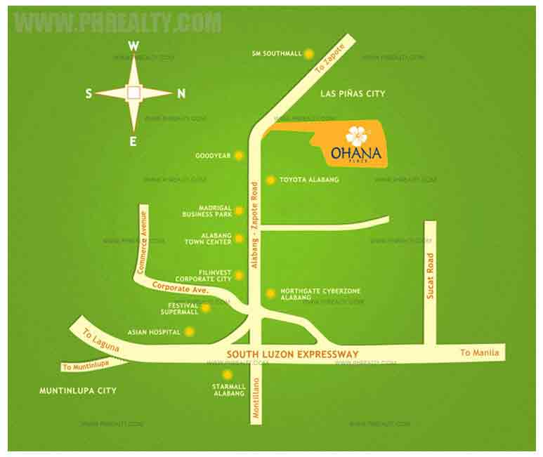 Ohana Place - Location & Vicinity