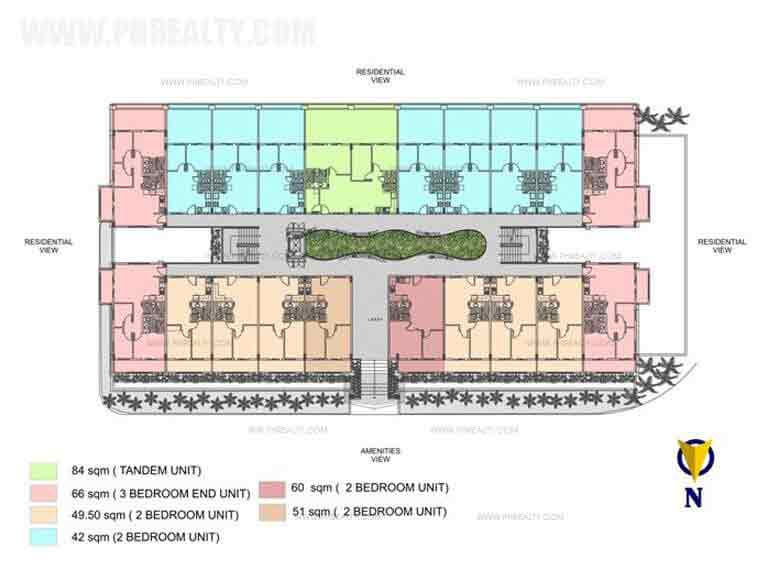 Ohana Place - Typical Bldg Plan Ground Floor