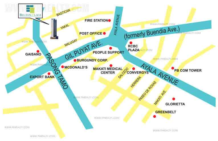 Belton Place - Location & Vicinity