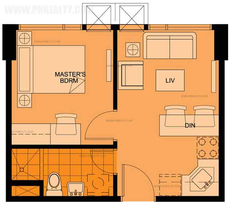 Belton Place - One Bedroom