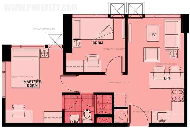 Belton Place - Two Bedroom