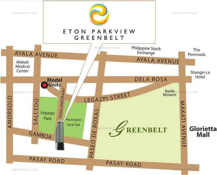 Eton Parkview Greenbelt - Location & Vicinity