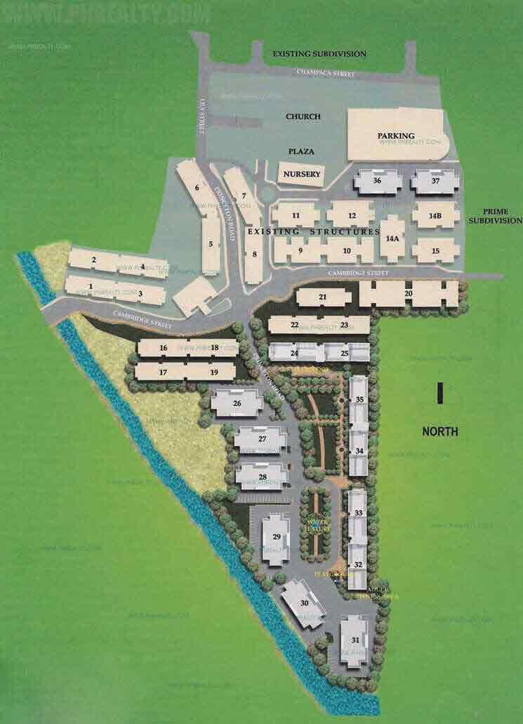Cambridge Village - Site Development Plan