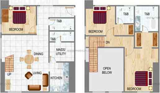 Eton Residences Greenbelt At Makati - Three Bedroom