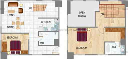 Eton Residences Greenbelt At Makati - Two Bedroom