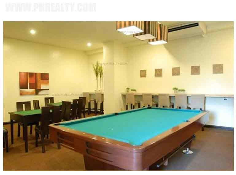 Sienna Park Residences - Game Room