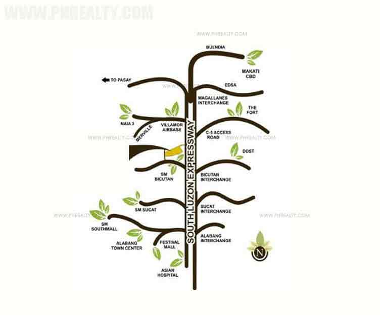 Sienna Park Residences - Location & Vicinity
