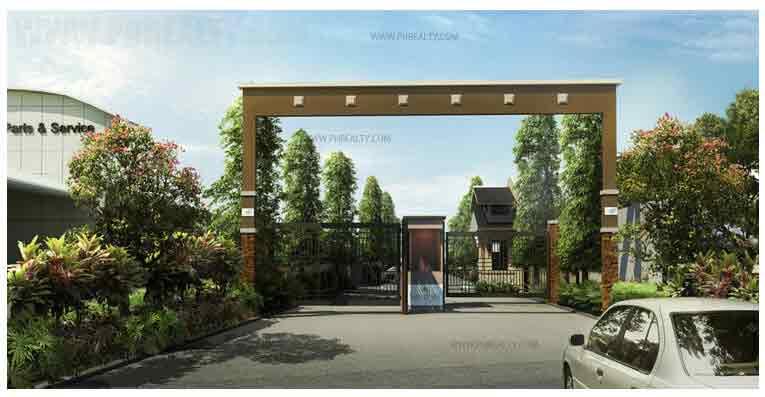 Sienna Park Residences - Main Entrance Gate