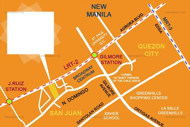 Little Baguio Terraces - Location & Vicinity