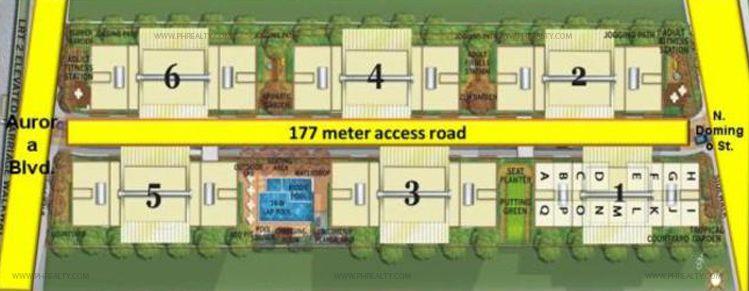 Little Baguio Terraces - Site Development Plan