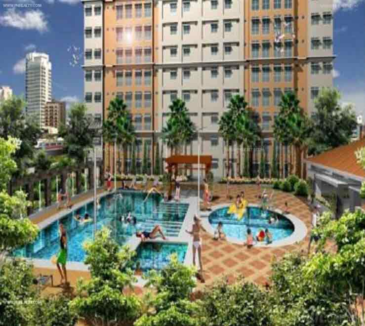 Pioneer woodlands condominium for sale in mandaluyong for Residential swimming pool dimensions in meters