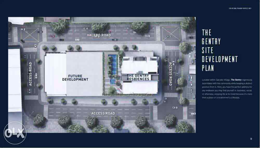 The Gentry Residences - Site Development Plan