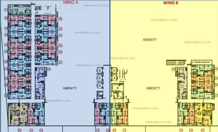 The Ellis Makati - Tower 1 Second Floor Plan
