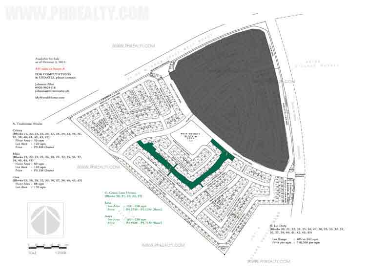 Avida Parkway Settings Nuvali - Site Development Plan