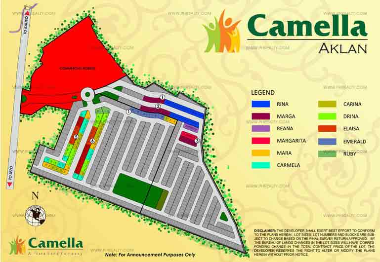 Camella Aklan  - Site Development Plan
