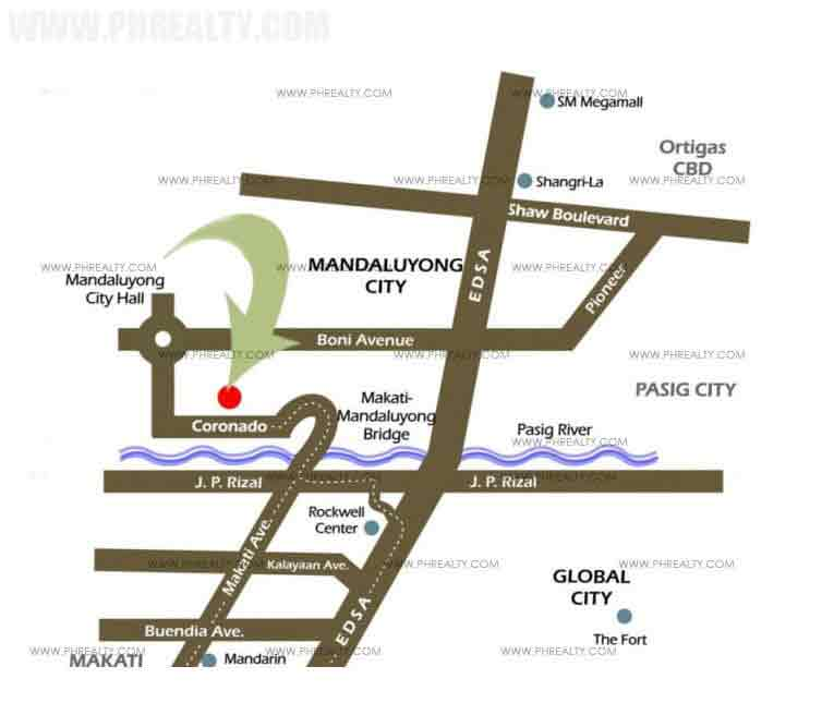 Tivoli Garden Residences - Location & Vicinity