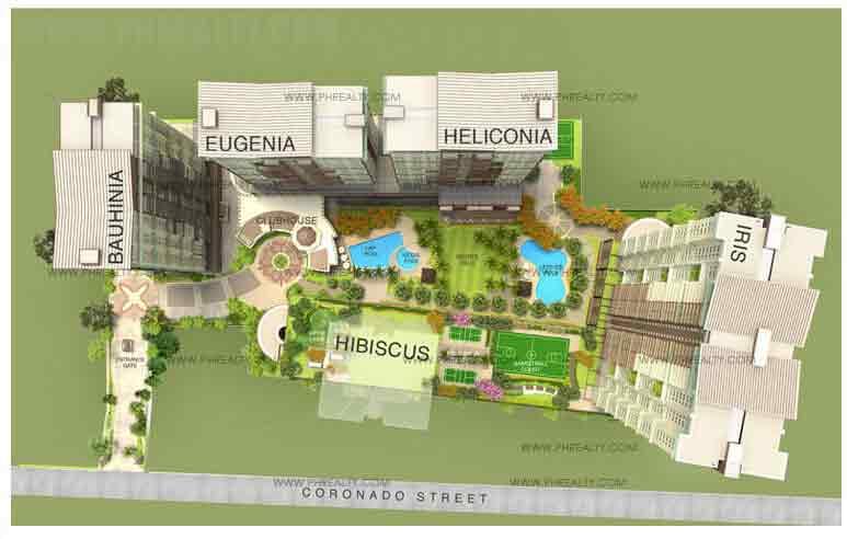 Tivoli Garden Residences - Site Development Plan