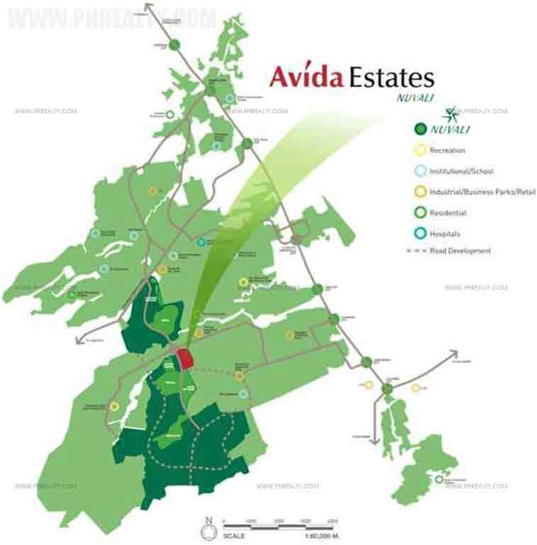 Avida Ridgeview Estates Nuvali - Building Plans
