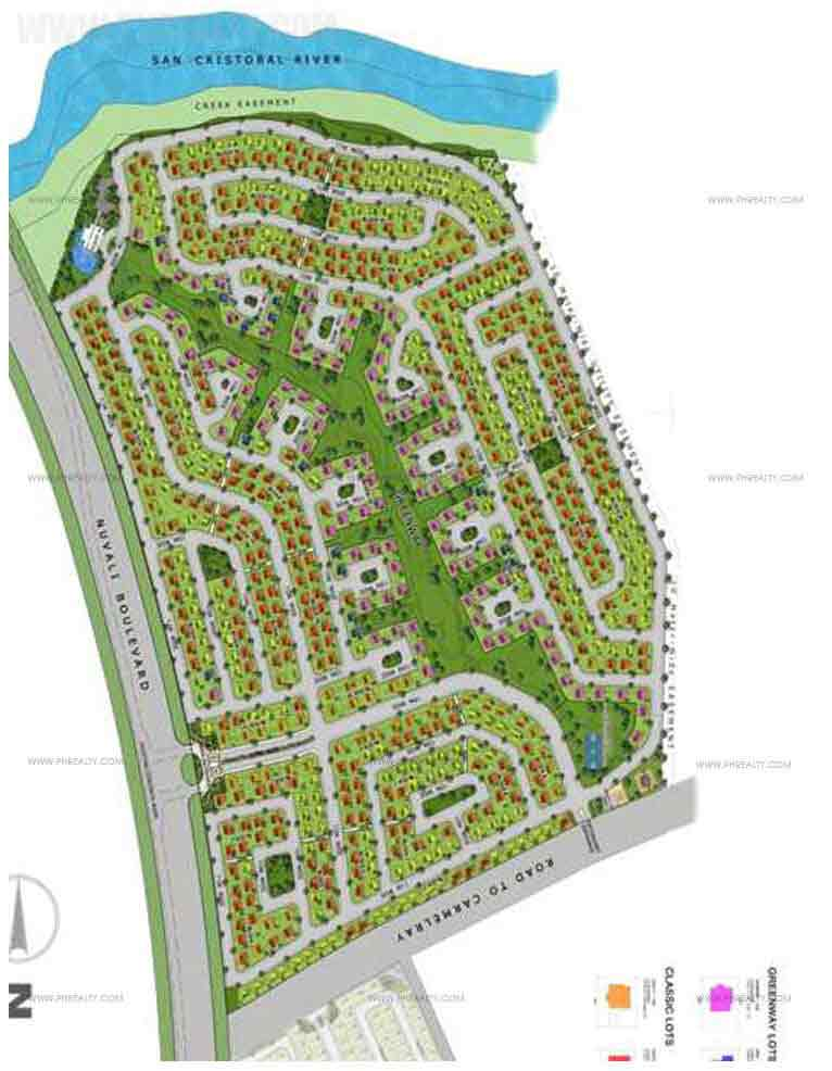 Avida Ridgeview Estates Nuvali - Site Development Plan