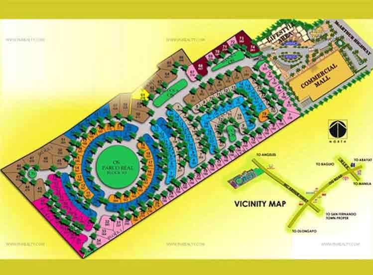 Andalusia - Site Development Plan
