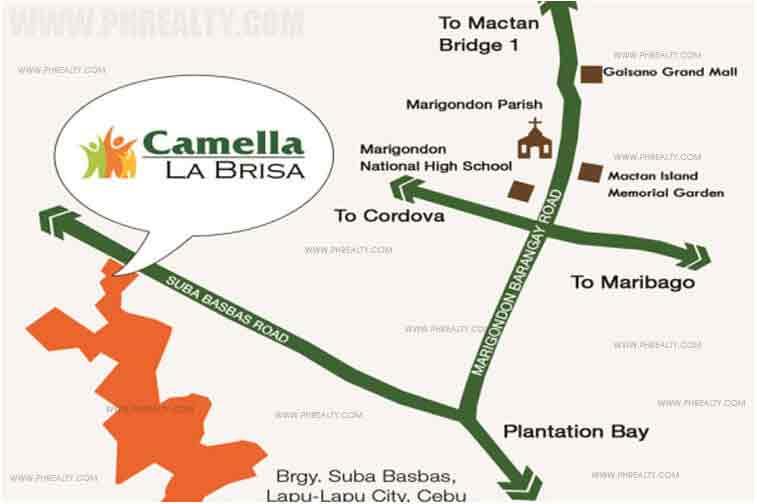 Camella La Brisa - Location & Vicinity