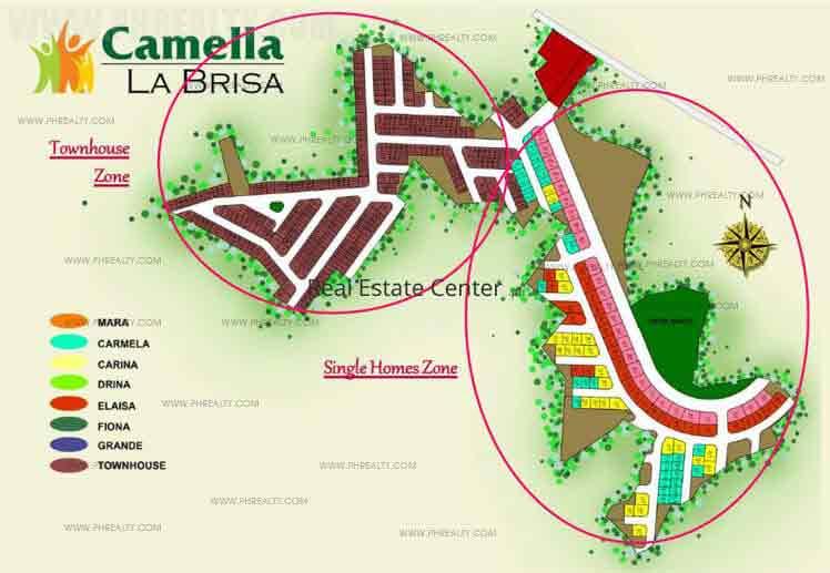 Camella La Brisa - Site Development Plan