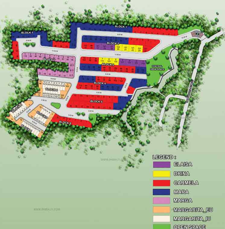 Camella Binangonan Rizal  - Site Development Plan