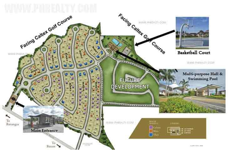Avida Settings Batangas - Site Development Plan