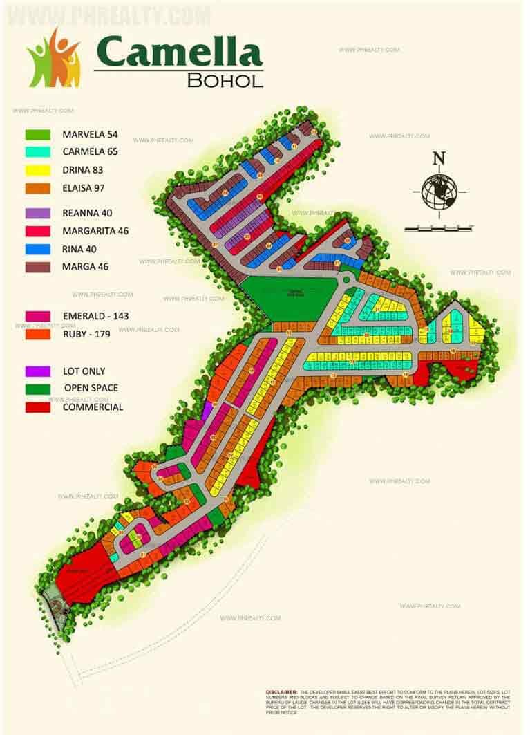 Camella Bohol - Site Development Plan