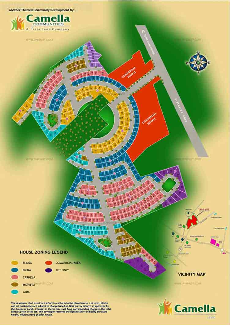 Camella Leyte  - Site Development Plan