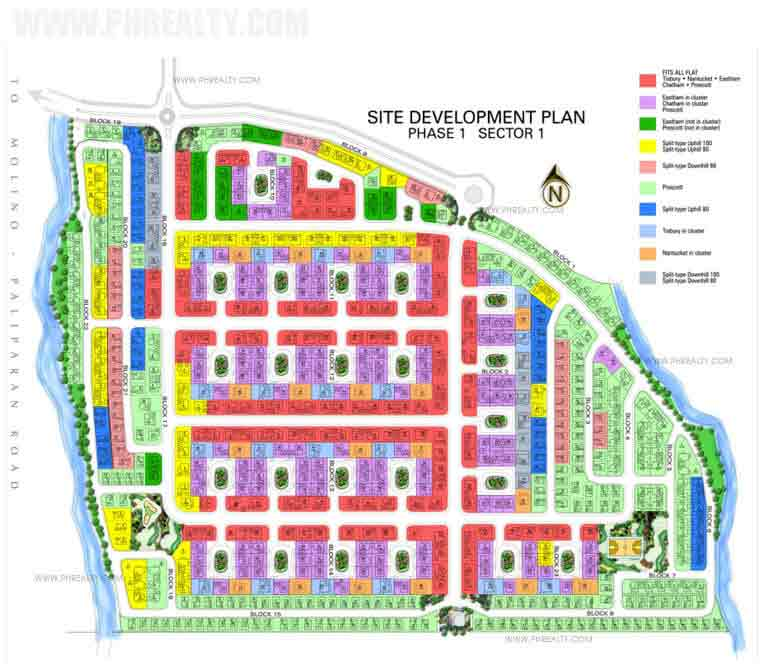 Avida Settings Cavite - Site Development Plan - Phase 1