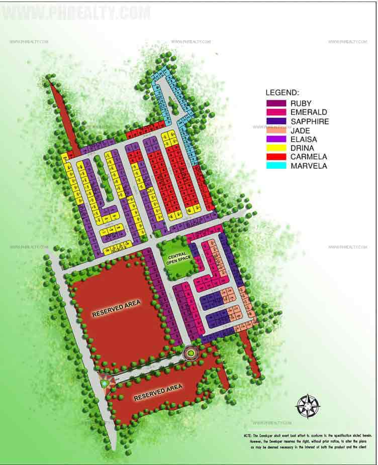 Camella Cabanatuan - Site Development Plan