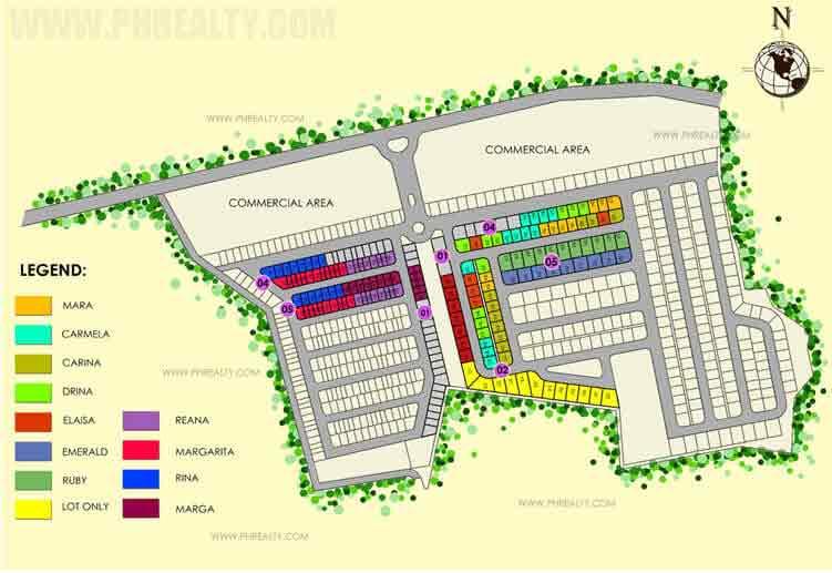 Camella Capiz  - Site Development Plan