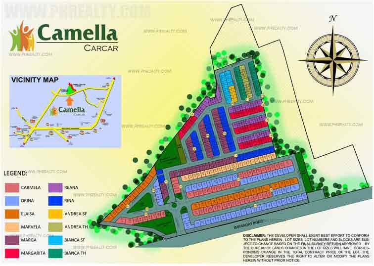 Camella Carcar - Site Development Plan