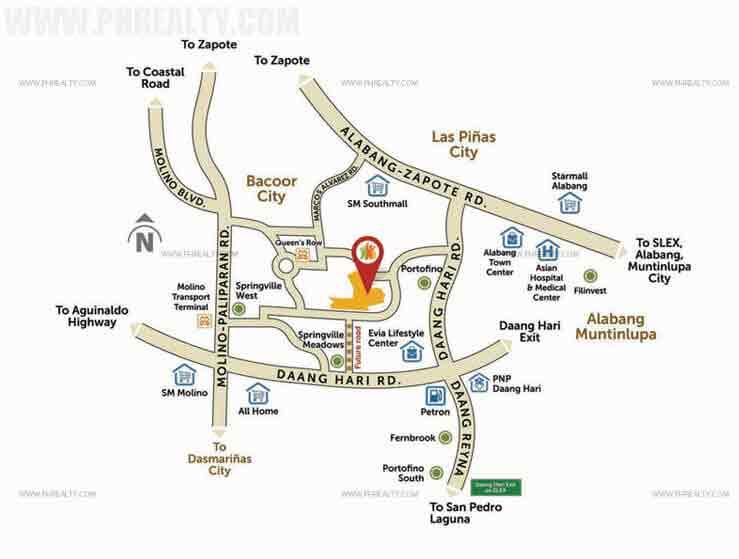 Carson Vista City - Location & Vicinity