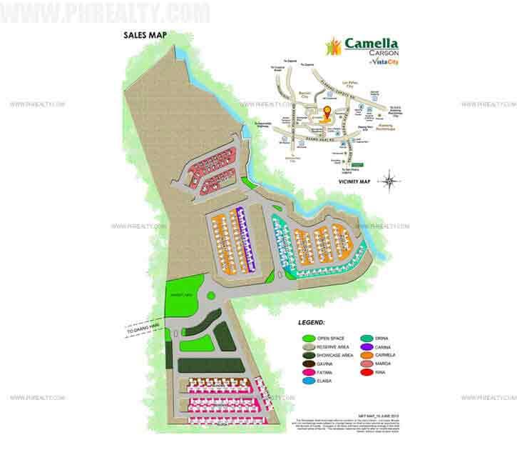 Carson Vista City - Site Development Plan