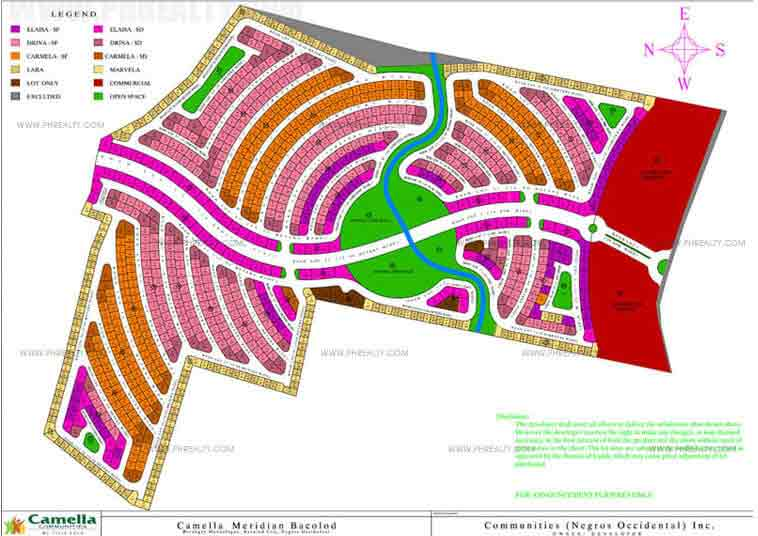 Camella Mandalagan Bacolod  - Site Development Plan