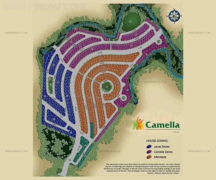 Camella Naga City - Site Development Plan